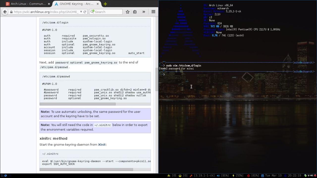 GNOME Keyring