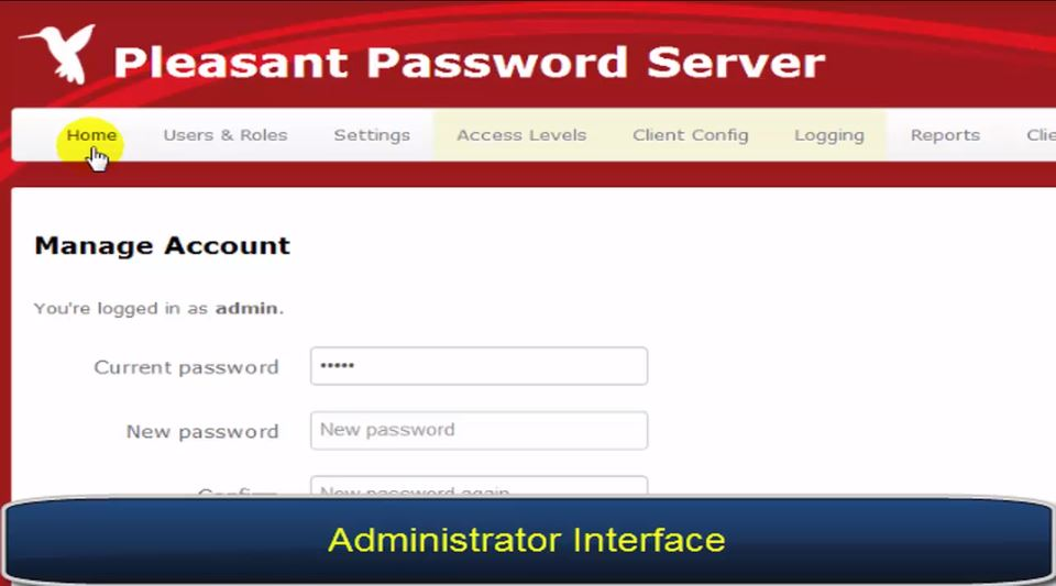 Pleasant Password Server