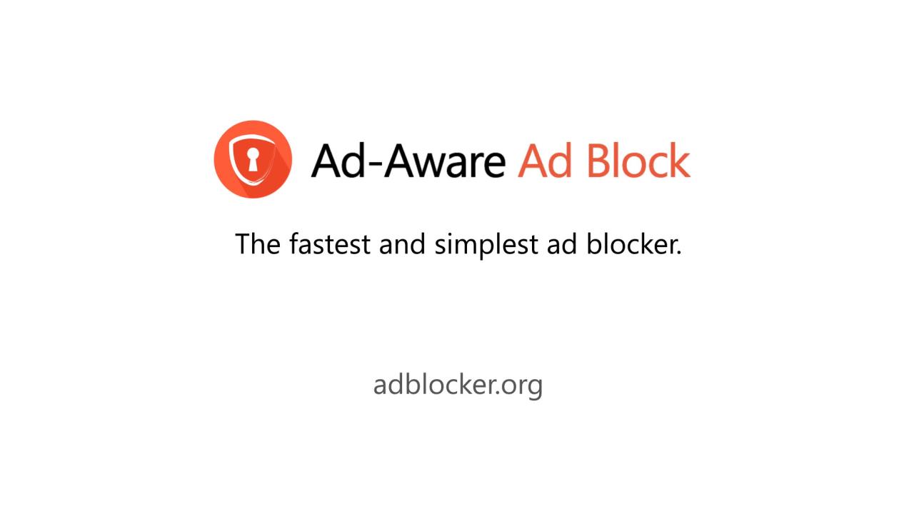 Adaware Ad Block