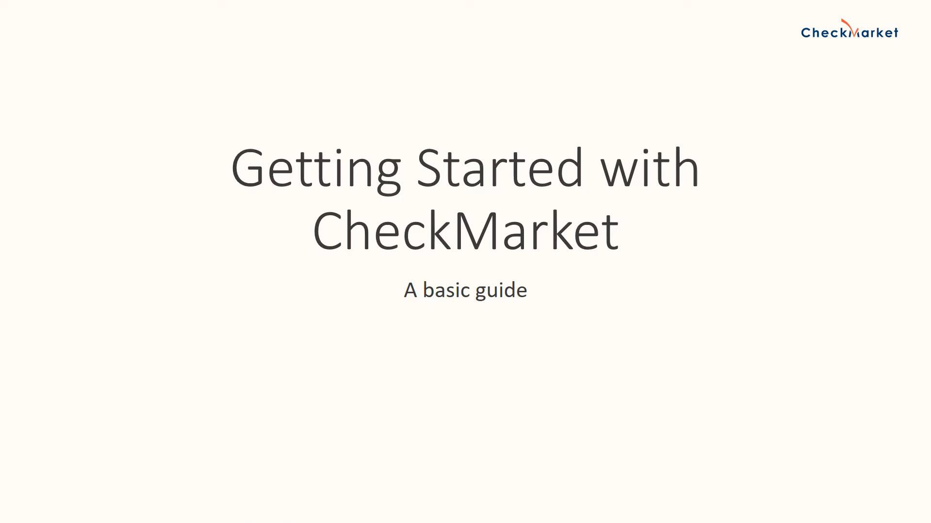 CheckMarket