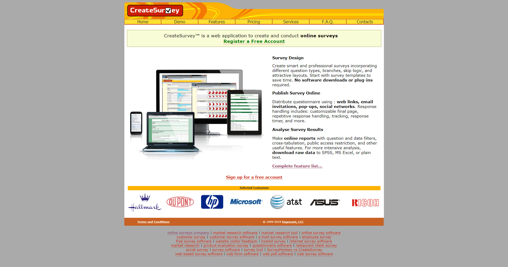 CreateSurvey