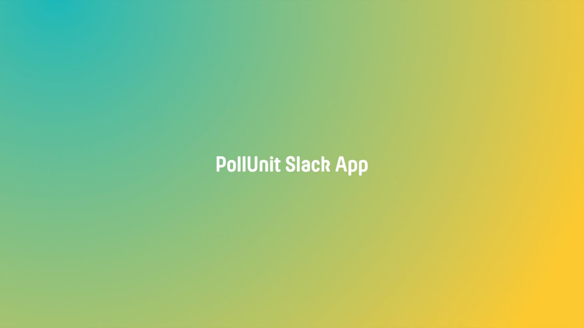 PollUnit