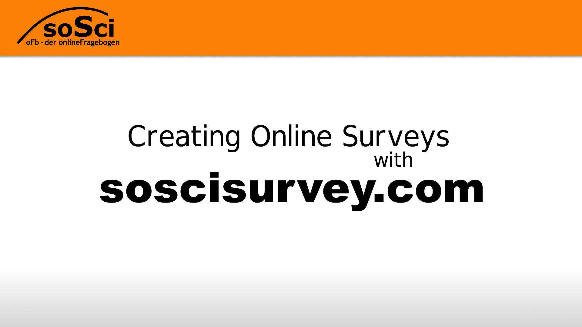 SoSci Survey