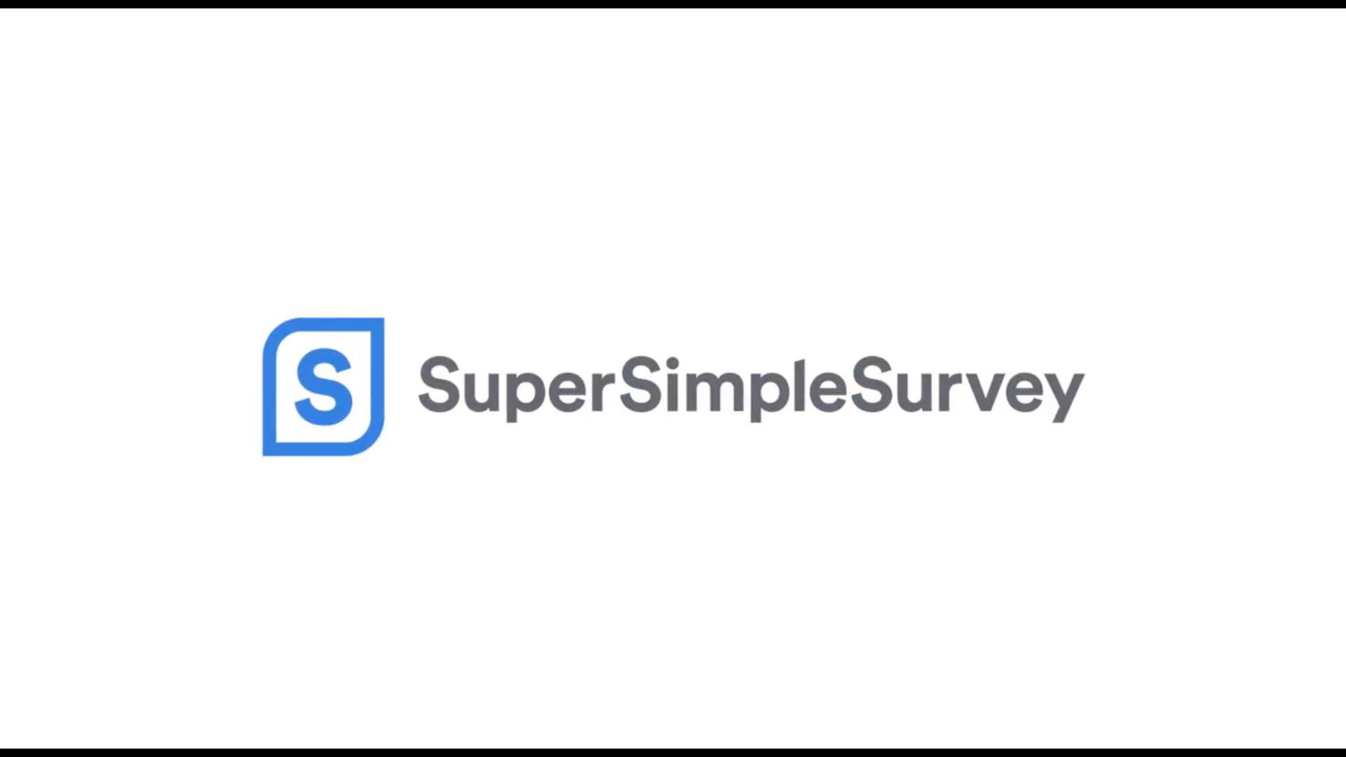 SuperSimpleSurvey