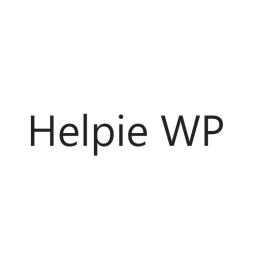 Helpie WP