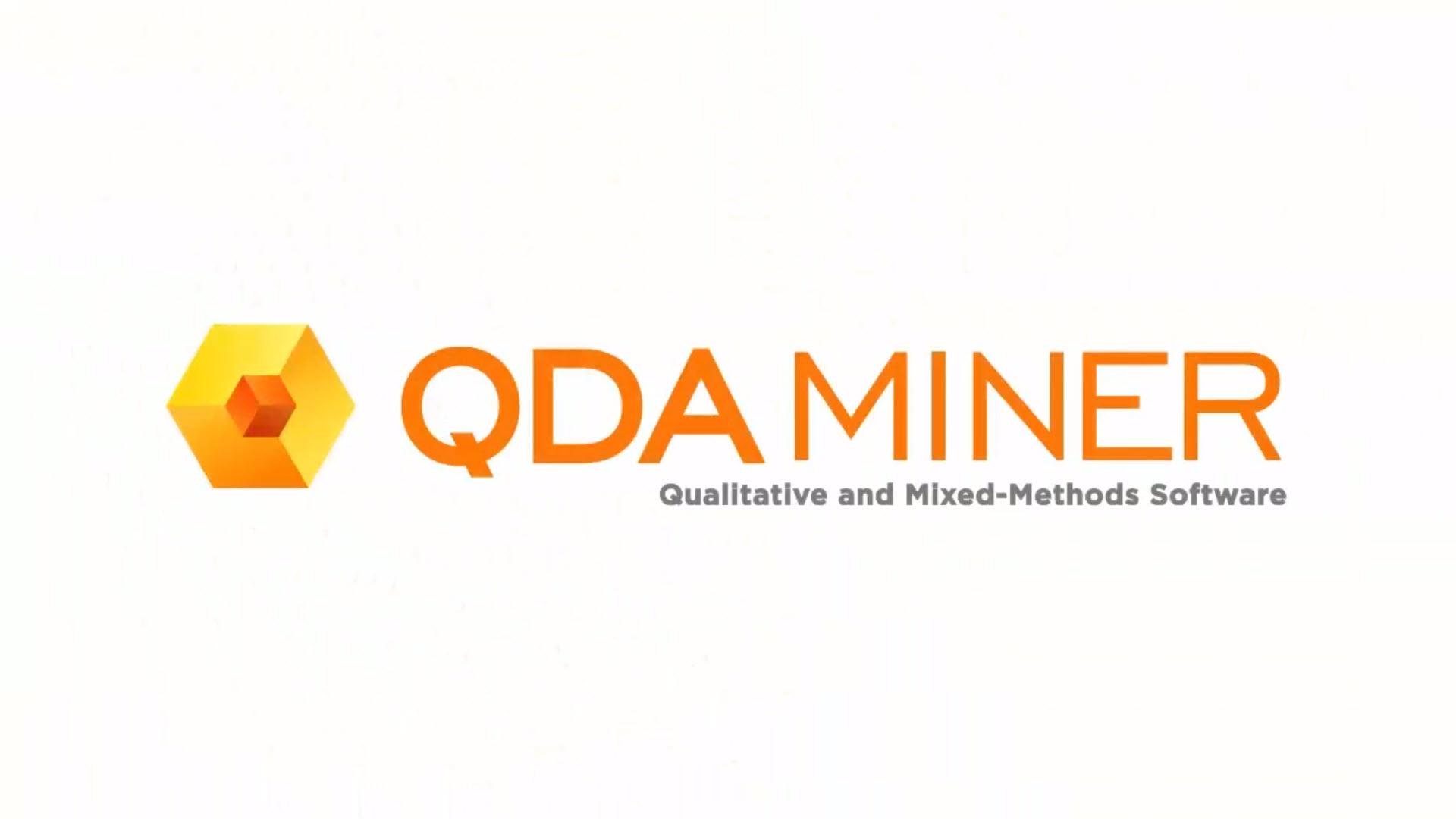 QDA Miner's WordStat