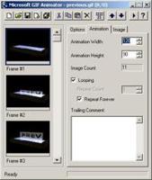 Microsoft GIF Animator
