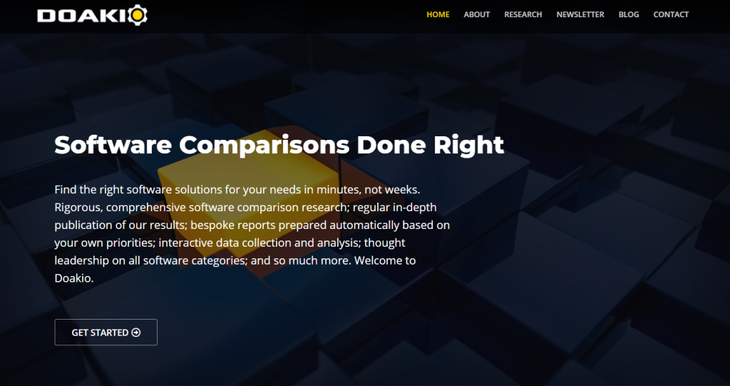 What is a Software Comparison Website?